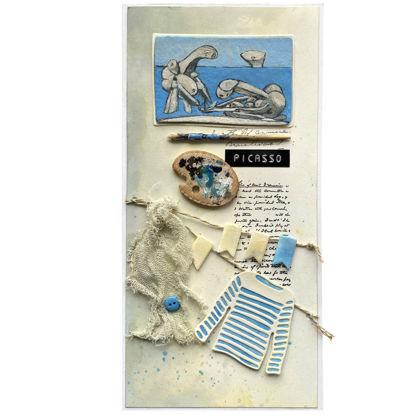 """Pablo Picasso """"Na pláži"""" - umělecká reprodukce"""