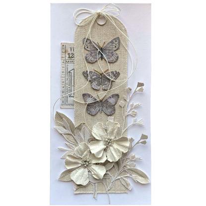 Obrázek Přání do obálky Natural motýlci