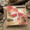 Obrázek Přání do obálky Červené víno 3