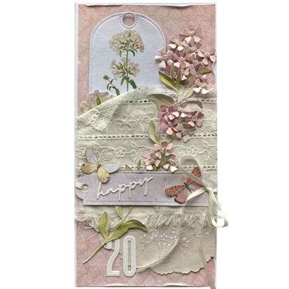 Obrázek Přání k 20. narozeninám Květina Mydlice lékařská