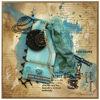 Přáníčko s drahým kamenem úzce spojeným s daným znamením zvĕrokruhu - Scorpio