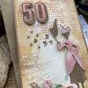 Obrázek Přání k 50. narozeninám Bella rosa