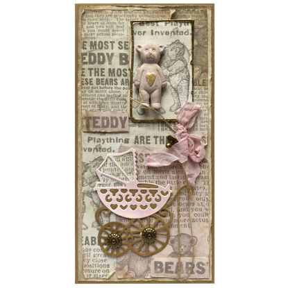 Obrázek Přání k narození miminka Holčička 7