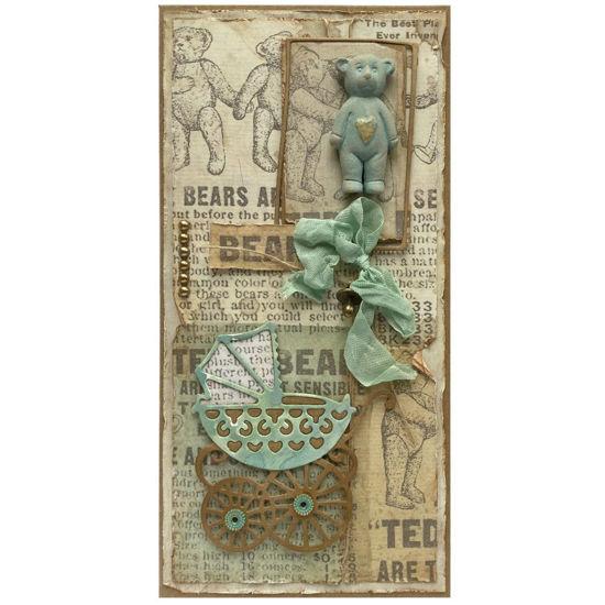 Obrázek Přání k narození miminka Teddy bear 2