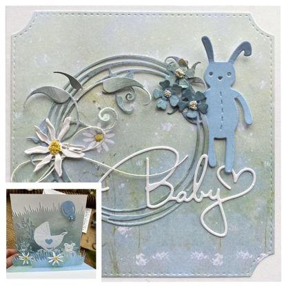 Obrázek Přání k narození miminka Pro chlapečka 3D
