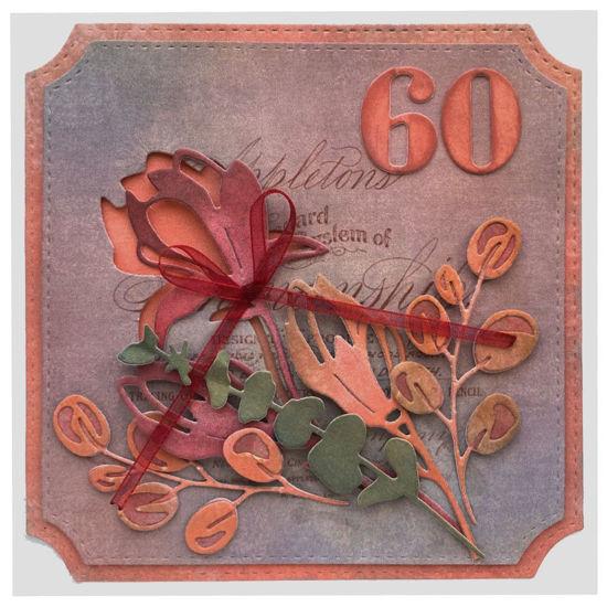 Obrázek Přání k 60. narozeninám Květy