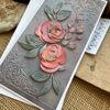 Obrázek Přáníčko do obálky Gratulace s květy 2