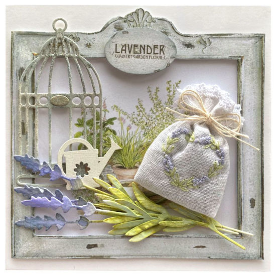 Obrázek Voňavé přání Levandule s konvičkou