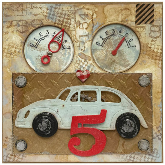 Obrázek Přání k 5. narozeninám Auto