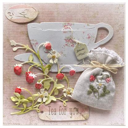Obrázek Voňavé přání Čaj pro tebe - jahodník