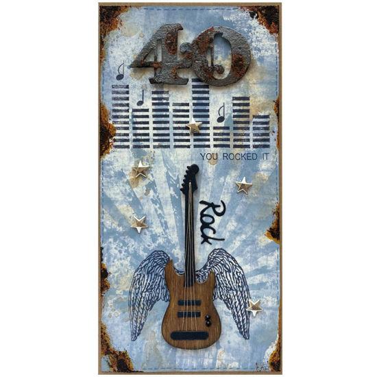 Obrázek Přáníčko k 40. narozeninám Rocker