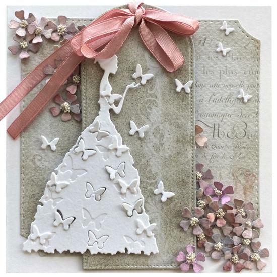 Obrázek Svatební přání Svatební s motýlky