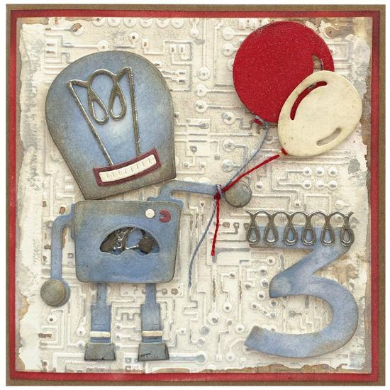 Obrázek Přání k 3. narozeninám Robot