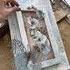 Obrázek Velká dřevěná visačka s přáníčkem 1