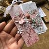 Obrázek Jmenovka na dárek (střední) Růžová wishes
