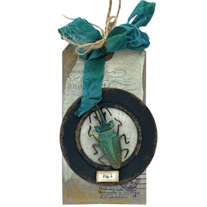 Originální visačka k ozdobení  dárku, dárkového koše