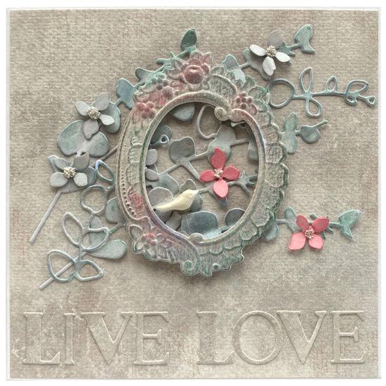 Obrázek Svatební přání Rámeček Live-love