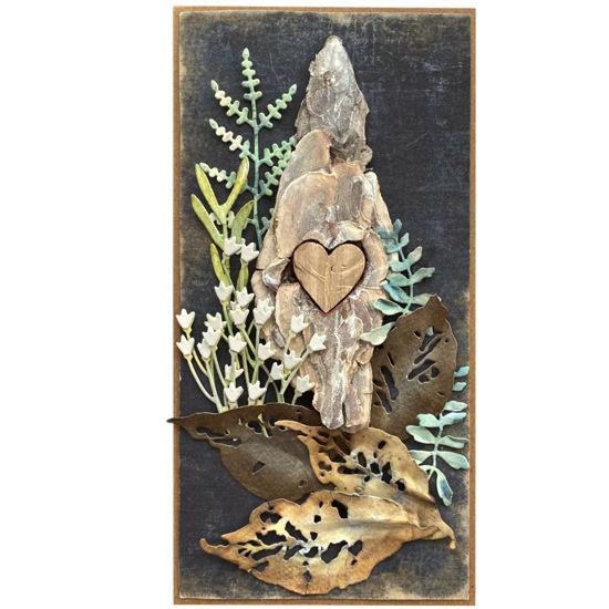 Obrázek Přání do obálky Kůra se srdcem