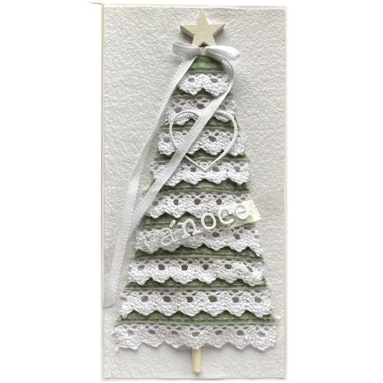 Obrázek Vánoční přání Stromeček