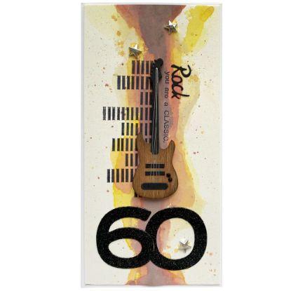 Obrázek Přání k 60. narozeninám Rocker