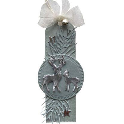 Obrázek Jmenovka na dárek (střední) Jelen 2
