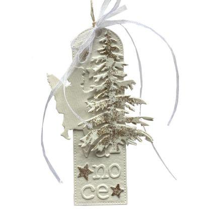 Obrázek Jmenovka na dárek (střední) Vánoce