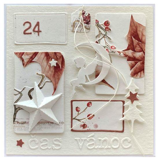 Obrázek Vánoční přání Hvězda