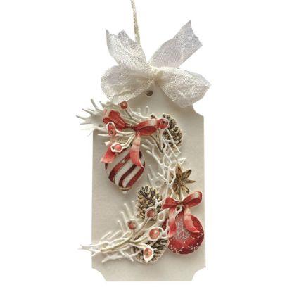 Obrázek Jmenovka na dárek (střední) Vánoční ozdoby
