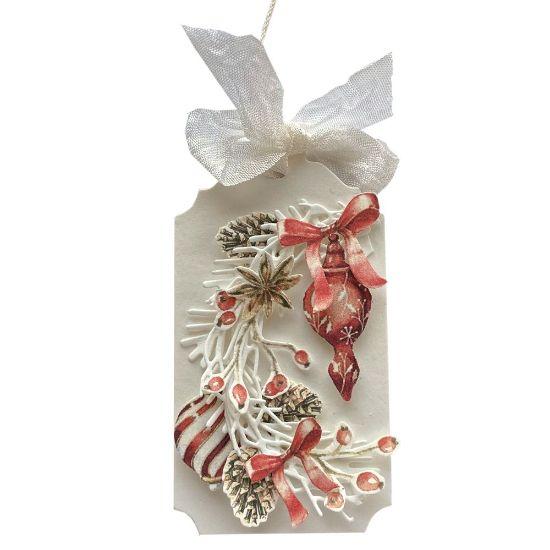 Obrázek Jmenovka na dárek (střední) Vánoční ozdoby 2