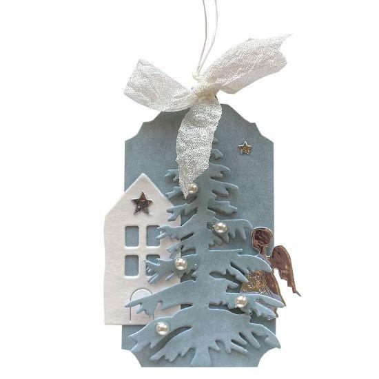 Obrázek Jmenovka na dárek (střední) Domeček