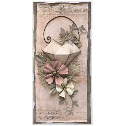 Obrázek Valentýnské přáníčko Růžové srdce