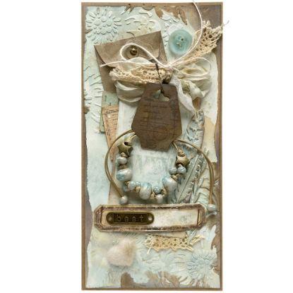 Obrázek Přání s dárkem Náramek světle modrý