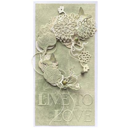 Obrázek Svatební přání Live to love