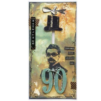Přáníčko k 90. narozeninám pro muže gentlemany